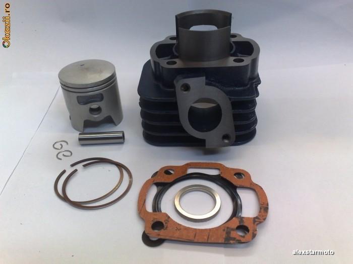 Kit Cilindru Set Motor Segmenti Piston Scuter Aprilia SR 80cc racire AER NOU
