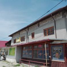Teren 740 mp si spatiu comercial, Lunguletu, Judet Dambovita - Spatiu comercial de vanzare, Parter, 600 mp, An constructie: 1996