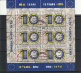 Romania ,10 ani euro   Nr lista 1825/sau a.