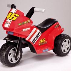 Motocicleta copii Ducati Mini VR Peg Perego - Masinuta electrica copii