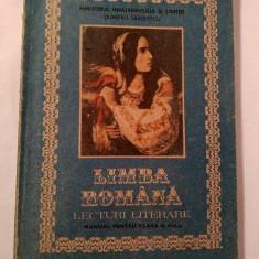 Limba Romana - MANUAL PENTRU CLASA VIII-A, 1991 - Manual scolar didactica si pedagogica, Clasa 8, Didactica si Pedagogica
