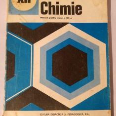 CHIMIE - MANUAL PENTRU CLASA XII-A, C.D. Albu, I. Ionescu si St. Ilie, 1993 - Manual scolar didactica si pedagogica, Clasa 12, Didactica si Pedagogica