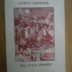 D5 Alice In Tara Minunilor - Lewis Carroll