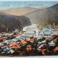 Carte postala  Manastirea  AGAPIA  1919   circulata, Fotografie, Iasi