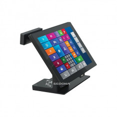 Monitor Touch 15 inch Aures Yuno (Display client atasat - 2x20 Caractere ) - Monitor touchscreen
