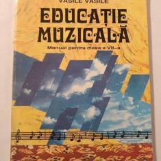 Educatie Muzicala - MANUAL PENTRU CLASA VII-A, 1998 - Manual scolar didactica si pedagogica, Clasa 8, Didactica si Pedagogica, Alte materii