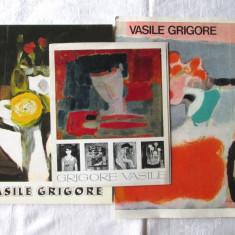 VASILE GRIGORE Album pictura + doua pliante expozitii 1968 si 1978