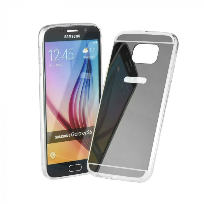 Husa LG K7 Forcell Mirror Gri foto mare