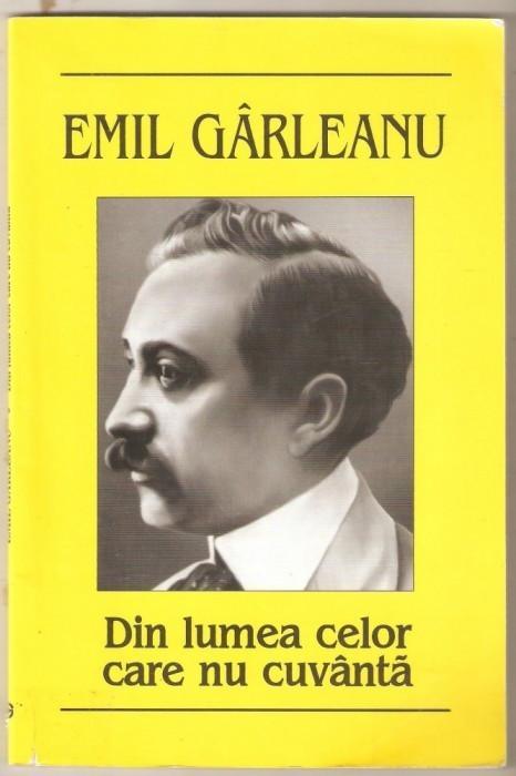 Emil Garleanu-Din lumea celor care nu cuvanta