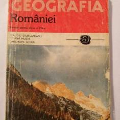 Geografia Romaniei - MANUAL PENTRU CLASA VIII-A, 1996 - Manual scolar didactica si pedagogica, Clasa 8, Didactica si Pedagogica, Geografie