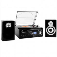 Sistem Stereo cu Patefon Auna TT-190 Hifi MP3 - Pickup audio