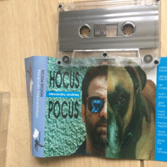 Alexandru andries hocus pocus album caseta audio Muzica Rock mediapro music blues 1995 mediapro, Casete audio