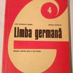 Limba germana - Manual pentru anul IV de studiu, 1993 - Curs Limba Germana