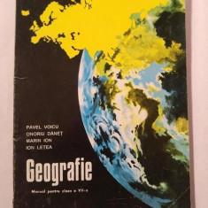 Geografie - MANUAL PENTRU CLASA VII-A, 1998 - Manual scolar didactica si pedagogica, Clasa 8, Didactica si Pedagogica
