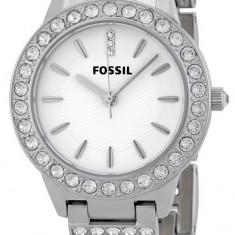 Fossil ES2362 Glitz ceas dama nou 100% original. Garantie. Livrare rapida., Elegant, Quartz, Inox, Otel, Rezistent la apa