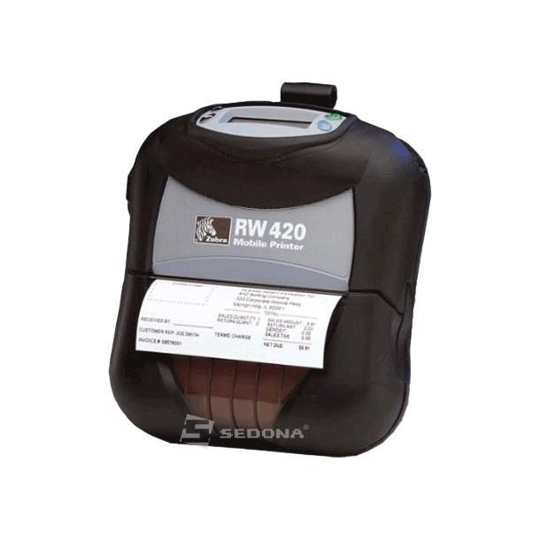 Imprimanta POS mobila Zebra RW420 conectare USB (Conectare - USB) foto mare