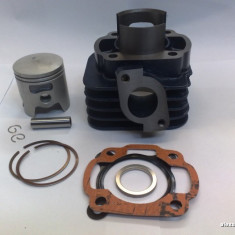 Kit Cilindru  Set motor Piston Segmenti Scuter Malaguti F10 80cc racire AER NOU