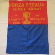 Steag fotbal - suporter STEAUA BUCURESTI
