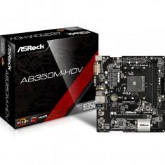 Placa de baza ASRock AB350M-HDV, microATX, AMD AM4, Chipset B350