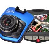 Camera Auto DVR Black Box Novatek C900 1080p FullHD 12MPx Blue - Camera video auto