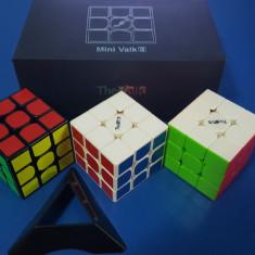 Cub Rubik 3x3x3 MoFangGe QiYi Valk 3 Mini Profesional 47.4mm
