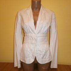 Costum de dama MNG, mar 36, alb, in stare foarte buna! - Costum dama