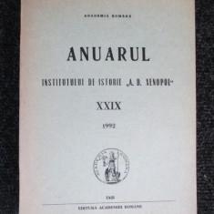 Anuarul institutului de istorie,, A. D. Xenopol,, XXIX