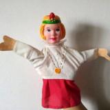 Marioneta teatru de papusi, papusa manuala, printesa, - Jucarii plus