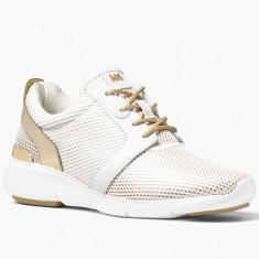 Adidas MICHAEL KORS Amanda Mesh - Adidasi Dama, Femei - 100% AUTENTIC, Culoare: Alb, Marime: 38.5, 40, Textil