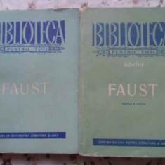 Faust Vol.1-2 In Romaneste De Ion Iordan - Goethe, 407254 - Carte Teatru