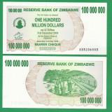 = ZIMBABWE 100 000 DOLLARS 2008 P-75 UNC  =