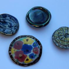 Patru BROSE semnate BELA ceramica originale