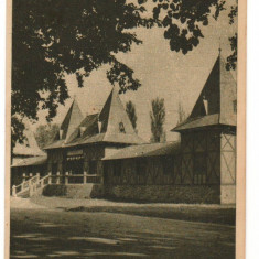 CPI (B9345) CARTE POSTALA - ORADEA. BAILE VICTORIA, 1955 - Carte Postala Crisana dupa 1918, Circulata, Fotografie