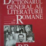 DICTIONARUL GENERAL AL LITERATURII ROMANE, P-R