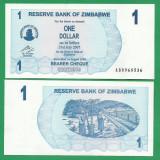 = ZIMBABWE 1 DOLLAR 2006 P-37 UNC    =