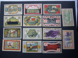 Lot  14  bucati  notgeld  ZEULENRODA  diferite  Germania  1921  aUNC