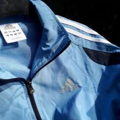 Bluza trening ADIDAS nr.S originala - Trening barbati Adidas, Marime: S, Culoare: Albastru, Bumbac