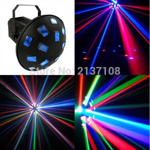 SCANNER LUMINI DISCO CU LEDURI SMD DERBY LIGHT ACTIVARE LA MUZICA,FULL COLOR.