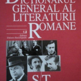 Dictionarul general al literaturii romane vol. VI (S/T)