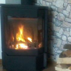 Soba, semineu pe lemne si carbone