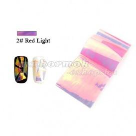 Folie decorativa Glass Foil - 2 Red Light foto