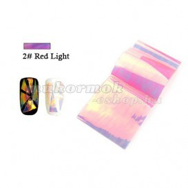Folie decorativa Glass Foil - 2 Red Light foto mare