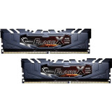 Memorie GSKill Flare X (for AMD) 32GB DDR4 2400 MHz CL15 Dual Channel Kit, DDR 4, Peste 16 GB
