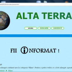 Atestat informatica / Tema: Natura - Certificare