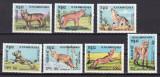 Cambodgia 1984  fauna  caini  MI 577-583  MNH  w47, Nestampilat