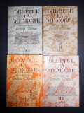 IORDAN CHIMET - DREPTUL LA MEMORIE  4 volume, Alta editura