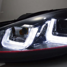 Faruri si stopuri VW Golf 6 echipate halogen si LED - Stopuri tuning, Volkswagen