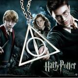 Pandantiv Medalion Lantisor Harry Potter Talismanele Mortii