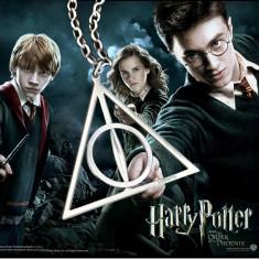 Pandantiv Medalion Lantisor Harry Potter Talismanele Mortii - Pandantiv fashion