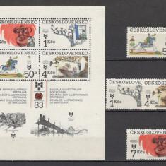 Cehoslovacia.1983 Bienala ilustratorilor de carti ptr. copii Bratislava KC.132 - Timbre straine, Nestampilat